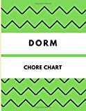 Dorm Chore Chart: Green Students Daily/Weekly Cleaning Checklist |8,5 x 11'| 100 pages| Responsibility Tracker&Notebook | Declutter&Organize Your Dorm ... chart for students and roommates, Band 10)