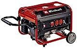 Einhell Stromerzeuger (Benzin) TC-PG 35/E5 (max. 3.100 W, emissionsarmer 4-Takt-Motor, 2x 230 V-Steckdosen, 15 l-Tank, AVR-Funktion, Überlastschalter, Ölmangelsicherung)
