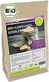 Flohsamenschalen Bio 99% Reinheit 1000g - Laborgeprüft - 100% Bio Anbau - 1kg indische Flohsamen Schalen - Premium Qualität