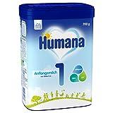 Humana Anfangsmilch 1, Babynahrung zum Zufüttern und als alleinige Säuglingsnahrung, sättigend dank Stärke, von Geburt an, 700 g