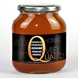 Reiner bienenhonig 100%. Roher Orangenblüten Honig. 1 Kg. Produziert in Spanien. Unpasteurisiert und ungeheizt. Hochwertige handwerkskunst. Glasgefäß. Große vielfalt an exquisiten geschmacks.