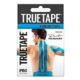 TRUETAPE® PRO 5m x 5cm Rolle - Kinesiotapes | wasserfestes & elastisches Kinesiologie Tape für den Sport | Physio-Tape | Kinesio Tapes | Blau