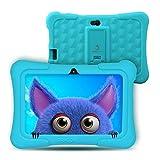Kids Tablet Android 9.0, Dragon Touch Y88X Pro Tablet PC Pad Lerntablet für Kids, 2 GB + 16 GB, 7' IPS-Touchscreen, G-Sensor, Google Play vorinstalliert mit Schutzhülle(Blau)