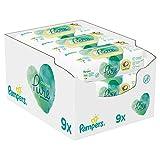 Pampers Coconut Pure Feuchttücher 9Packungen= 378Feuchttücher