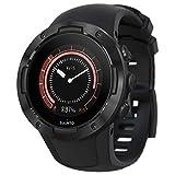 Suunto 5, Unisex-GPS-Multisportuhr für Erwachsene, Mineralglas, Edelstahl/Silikon, Schwarz (All Black), SS050299000