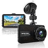 Apexcam Dashcam1080p Autokamera Video Recorder mit 170° Weitwinkelobjektiv 3 Zoll LCD-Bildschirm WDR Bewegungserkennung Loop-Aufnahme Nachtsicht und G-Sensor