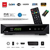 Opticum SBOX - Sat-Receiver HD - PVR Aufnahme - Timeshift - Media-Player DVB-S/S2 - Astra & Hotbird vorinstalliert + Anadol HDMI Kabel
