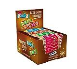 Corny Haferkraft Mix-Box, weiche Schoko-, Blueberry-Chia-, Mandel-Karamell- und Cranberry-Kürbiskern-Haferriegel, 24er Pack (24 x 65 g)