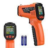 Digitale Laser Infrarot Thermometer, Peakmeter IR Pyrometer Berührungslos Temperaturmessgerät mit LCD Beleuchtung, -50℃~0℃ /-58℉~32℉ für Industrie, 2 AAA* Batterien Inbegriffen (Nicht für Menschen