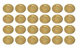 Platzteller Dekoteller Ø 33 cm gold Set