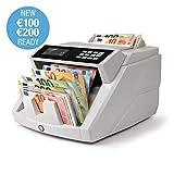 Safescan 2465-S - Banknotenzähler für gemischte Geldscheine, mit 7-facher Falschgeldprüfung