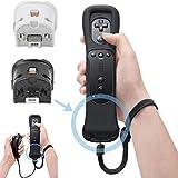 SunshineFace Fernbewegung Plus Sensor Controller-Adapter + Silikonhülle für Nintendo Wii