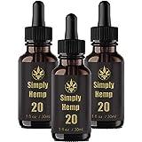 SIMPLY ätherisches Öl 20% - 30 ml Tropfen, ätherisches Öl mit natürlichen Inhaltsstoffen, reich an Fettsäuren, Vitaminen und Mineralstoffen, 100% vegan und frei von Zusatzstoffen