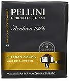 Pellini Espresso Gusto Bar Nr. 3 Gran Aroma Gemahlen für Espressomaschine 500 g