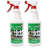ABACUS 2X 750 ml Nell Ultra gebrauchsfertig Grünbelag- & Pilzentferner (7283)