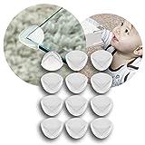 reer Ecken-Schutz fürs Baby 82020, starker Halt, geprüft kindersicher, 12 Stück, transparent