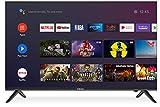Caixun EC43S1A 108cm(43 Zoll) Smart LED Fernseher (4K Ultra HD,HDR,Triple Tuner,DVB-T2/T/C/S2/S, WLAN) [Modelljahr 2020] [Energieklasse A+]
