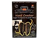 QCHEFS Hard Cracker | Hunde Zahnpflege-Snack| Kauknochen Welpen & klein- zum Kauen & Spiel | gegen Mundgeruch & Zahnfleischentzündung & Zahnstein| | Leckerli| Hüttenkäse – natürlich antibakteriell