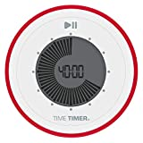 Time Timer TWIST Visueller Countdown 90-Minuten-Digital-Timer für Klassenzimmer, Küchen, Tool für Kinder und Erwachsene bei der Heimunterricht und im Büro; Magnetisches und tragbares Zeitmanagement