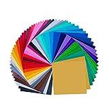 68 Pack 12 'X 12' Premium permanent selbstklebende Vinyl Platten-verschiedene Farben (32 Farbe)