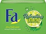 Fa Refreshing Lemon Festseife, 1er Pack (1 x 100 g)