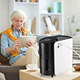 4YANG Sauerstoffkonzentrator 93% 1-7L/Min Hohe Reinheit Sauerstoff Maschine Einstellbare tragbare Sauerstoffmaschine für Heim- und Reisezwecke (220V)
