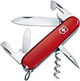 Victorinox Taschenmesser Spartan (12 Funktionen, Korkenzieher, Dosenöffner) rot
