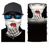3D Halstuch Kopftuch Radfahren Multifunktionstuch Stirnband Winddicht Motorradmaske Skifahren Kopf Wrap Sturmmaske Snowboarden Warm Neck Gaiter Bandana Balaclava UVSchutz