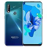 OUKITEL C17 Pro 4G LTE Smartphone Ohne Vertrag Handy (2019) Android 9.0 6,35' 19.5:9 Wassertropfen Bildschirm, 4GB + 64GB, 3900mAh Akku, Helio P23 Octa Core Dual-SIM Handy, Kamera 13MP + 5MP + 2MP