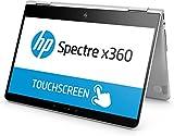 HP Spectre x360 (13-ac002ng) 33,8 cm (13,3 Zoll / Full HD Touchscreen) Convertible Ultrabook (2in1 Laptop mit Intel Core i7-7500U, 16 GB RAM, 1 TB SSD, Intel HD-Grafik, Windows 10 Home 64) silber