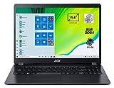 Acer Aspire 3 A315-56-35MW Pc Portatile, Notebook con Processore Intel Core i3-1005G1, Ram 8 GB DDR4, 512 GB PCIe NVMe SSD, Display 15.6' FHD LED LCD, Intel UHD, Windows 10 Home, Nero