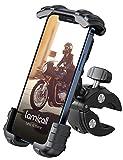 Handyhalterung Fahrrad, Lamicall Handyhalter Motorrad - Universal 360 Drehung Outdoor Fahrrad Halter für iPhone 12 Mini, 12 Pro Max, 11 Pro Max, Xs Max, X, XR, 8, 7, 6S, Samsung S10 S9 S8, Smartphones