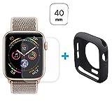 MTP Products Hat Prince Apple Watch Series 5/4 Full Schutz-Set - 40mm - Schwarz