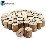 Surepromise Original und viel Besser Qualität bei Sofortdeins 50 x Holz Holzsteg Kartenhalter Platzkarte Tischkartenhalter Namesschild Fotohalter Hochzeit Deko