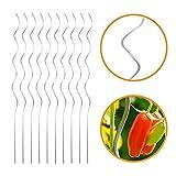INDUTEC Tomatenspiralstab Tomantenstab Spiralstab Rankstab - Ø 6,8 mm x H: 180 cm (10 Stück)