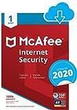 McAfee Internet Security 2020   1 Gerät   1 Jahr   PC/Mac/Smartphone/Tablet   Download Code