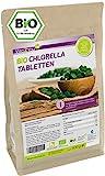 Bio Chlorella Tabletten 500g | 400mg pro Tablette | ca. 1250 Presslinge | Aus Ökologischen Anbau | Rohkost im Zippbeutel