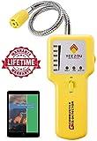 Gasmelder, Gaslecksuchgerät; Tragbarer Leckdetektor für brennbare explosive Gase; Gasspürgerät von Erdgas, Propangas, Butan, Flüssiggas, Stadtgas