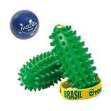 Togu Set Massageball Faszio Ball Local und Brasil 2er-Set Tiefenmuskulatur Handtrainer, Made in Germany