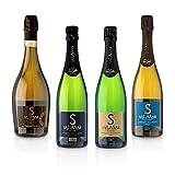 Probierset Maison Salasar 4er Sektpaket - Frankreich - De Limoux AOP - Crémant, Paket mit:4 Flaschen