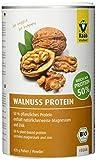 Raab Vitalfood Bio Walnuss-Protein Pulver, reines Proteinpulver mit 45 % pflanzlichem Eiweiß, aus biologischem Anbau, vegan, laborgeprüft, 420 Gramm