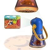 Taschenlampe Kinder Projektor, Baby Star Projektor mit Zoomobjektiv Nachtlichter Projektor Lampe für Kinder Schlafzimmer Schlafen