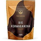 TRUE NATURE® Bio Ashwagandha Pulver (750g) - Einführungspreis - Indische Bio Schlafbeere (Withania Somnifera) aus kontrolliert biologischem Anbau - Vegan, Laborgeprüft, Deutsche Produktion