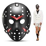 1 STÜCKE Cosplay Kostüm Maske Halloween Party Coole Maske Hockey Festival Maske (Schwarz)