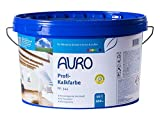 AURO Profi-Kalkfarbe Nr. 344 - 10 Liter dampfdiffusionsoffen, Vorbeugung gegen Schimmelbefall, geruchsabsorbierend, gute Haftung auf mineralischen Untergründen (Raufaser, Gipskartonplatten oder Lehm)