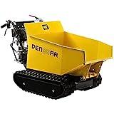 DENQBAR Mini-Dumper Motor-Schubkarre Muldenkipper Raupenantrieb 500 kg