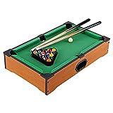 XXCC 20 Zoll Tisch Top Billard Tischtisch Miniatur Billardtisch Pool Spiel Set Holz Mini Billardtisch Top Kinder Mini Snooker Tisch Spielzeug Pool Billard Für Kinder