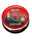 25 Maxell CD-R 700MB Music XL-II 80 in Cake -Box besonders für Musik geeignete 80 MU Rohlinge
