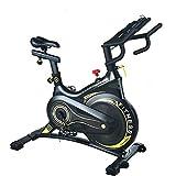 Neusten Heimtrainer Fahrrad Für Zuhause Mit Magnetbremssystem, Profi Indoor Cycle Ergometer Heimtrainer,Fitnessbike Speedbike Mit Flüsterleise Riemenantrieb-Fahrrad