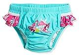 Playshoes Baby-Mädchen UV-Schutz Windelhose Flamingo Schwimmwindel, Türkis (Türkis 15), 86 (Herstellergröße: 86/92)